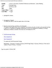 Preview of OSCperformanceandresourcesspecialmeeting_050207_agenda.pdf