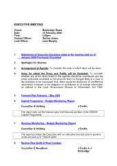 Preview of exec_270109_agenda.pdf