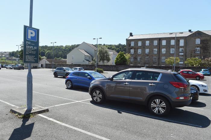 Whitehaven Sports Centre car park