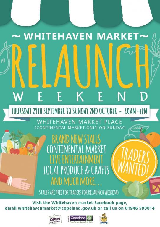 The Whitehevaen Market relaunch weekend