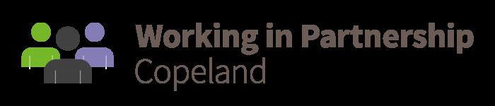 Working in Partnership Copeland logo
